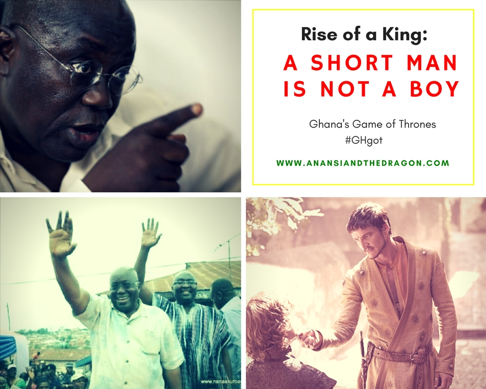 President Akufo-Addo, Bawumiah, Oberyn Martel and Tyrion Lannister