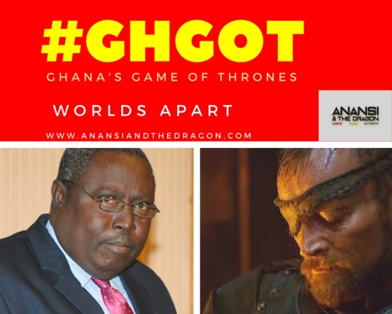 Ghana's GOT: Martin Amidu and Lord Beric Dondarrion
