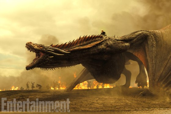 Dragon in Game of Thrones: Daenerys and Drogon